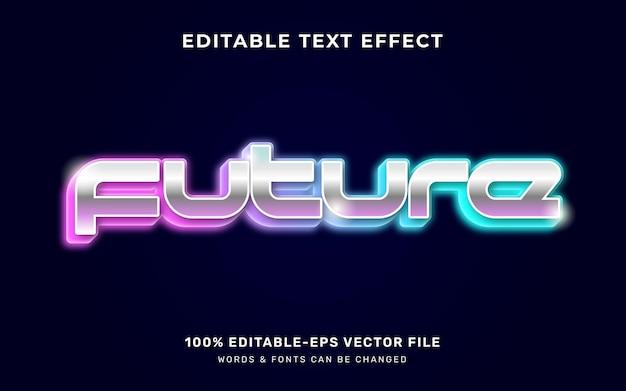 Przyszły efekt tekstowy