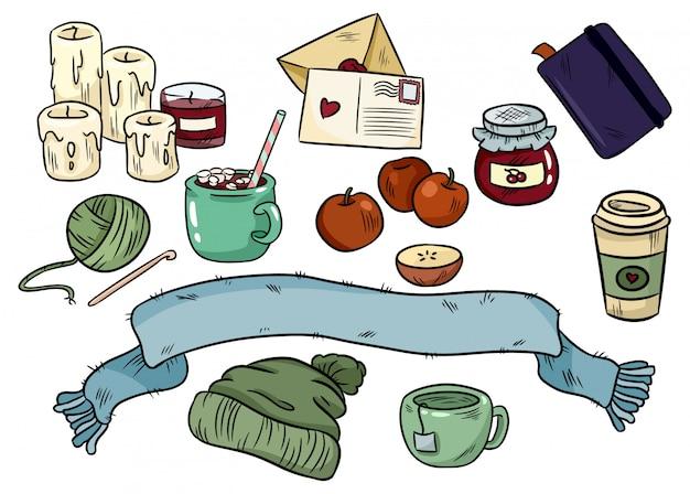 Przytulne doodle higieniczne