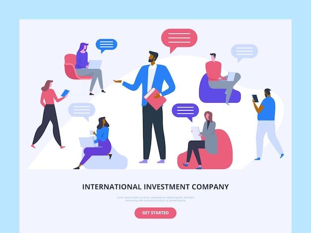 Przywództwo w biznesie strona główna międzynarodowej firmy inwestycyjnej mentoring w zakresie zarządzania pracą zespołową