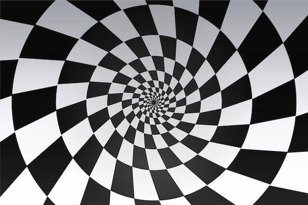 Psychodeliczne tło iluzji optycznej