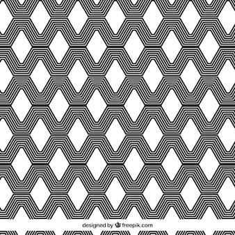Psychodeliczny geometryczny wzór tła