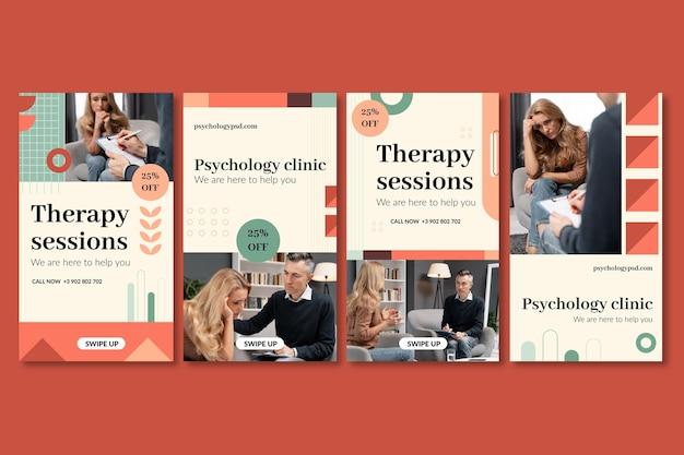 Psychologia kolekcja opowiadań na instagramie