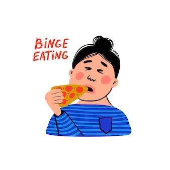 Psychologia - napadowe objadanie się