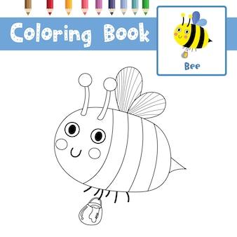 Pszczoła kolorowanki