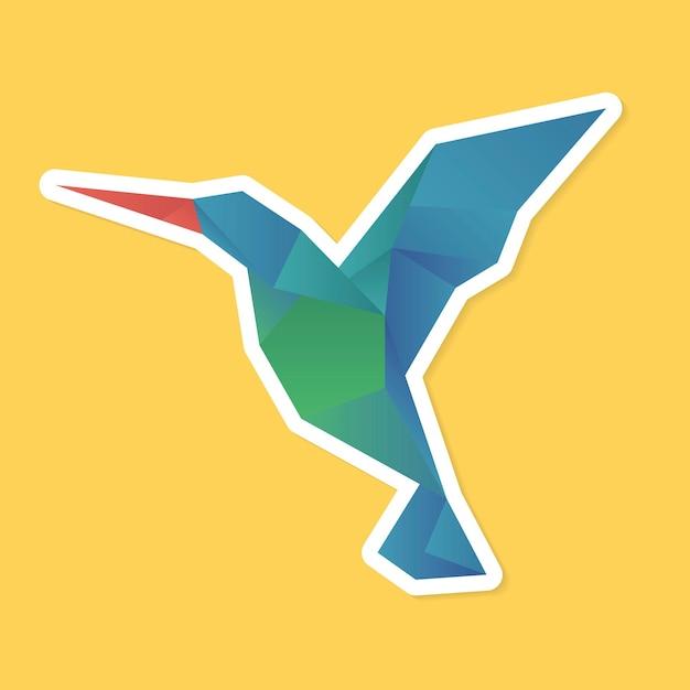 Ptak origami