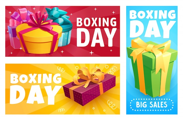 Pudełka na prezenty świąteczne, wyprzedaż prezentów świątecznych