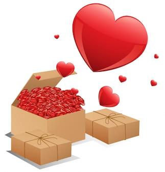 Pudełka róż