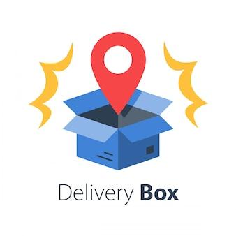Pudełko dostawy