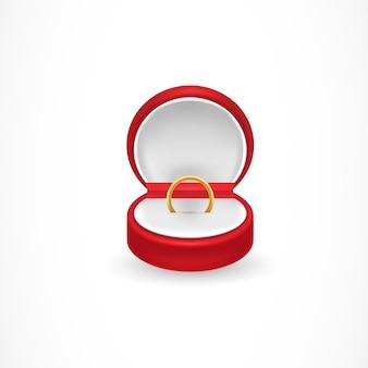 Pudełko na pierścionek zaręczynowy