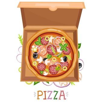 Pudełko na pizzę