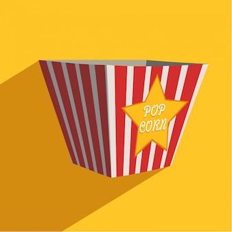 Pudełko pop corn