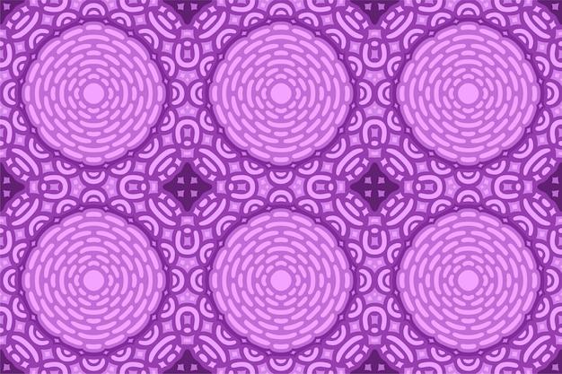 Purpurowa grafika z abstrakcjonistycznym bezszwowym wzorem