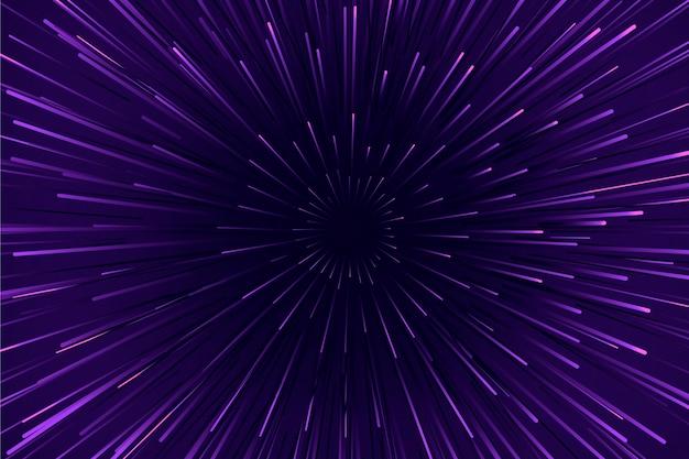 Purpurowa prędkość zaświeca tło