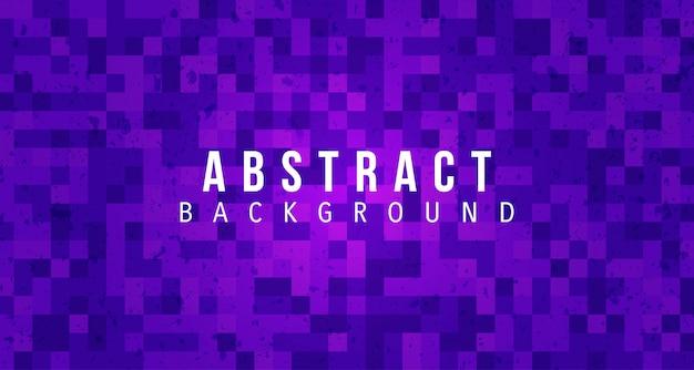 Purpurowego piksla abstrakcjonistyczny tło z grunge teksturą