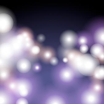Purpurowy bokeh tło