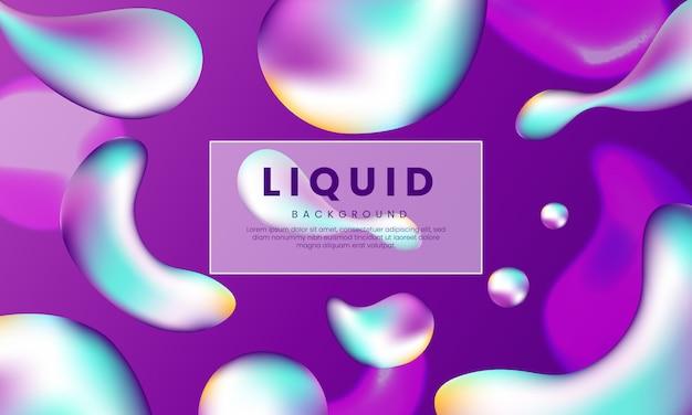 Purpurowy nowożytny abstrakcjonistyczny ciekły tło