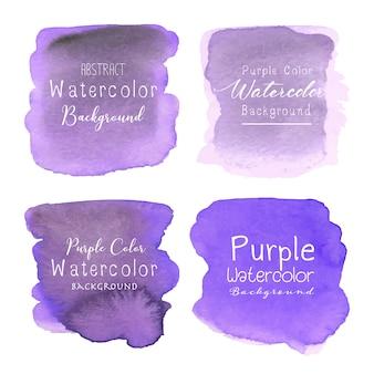 Purpurowy streszczenie tło akwarela