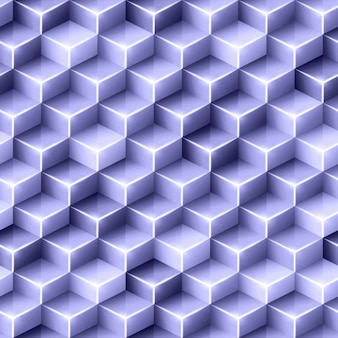 Purpurowy wielokątne tło z kostek