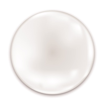 Pusta błyszcząca odznaka na białym tle