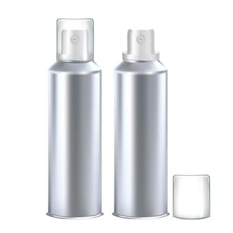 Pusta butelka dezodorantu do produktów higienicznych