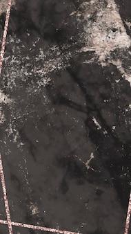 Pusta tapeta na telefon komórkowy z czarnego marmuru