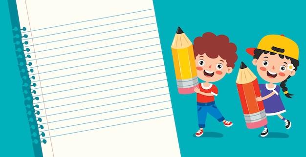 Puste dokumenty dla edukacji dzieci
