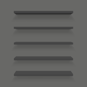 Puste półki ustawiać na ścianie odizolowywającej