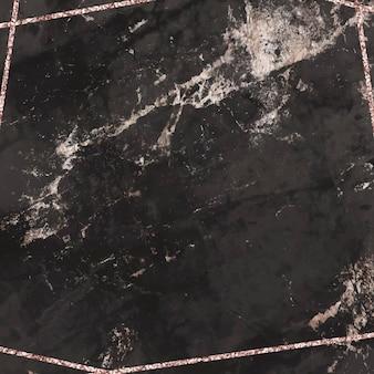Pusty czarny marmur teksturowanej tło