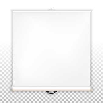 Pusty ekran dla projektora