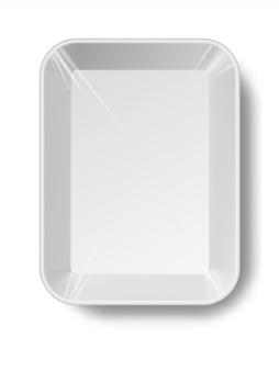 Pusty plastikowy pojemnik
