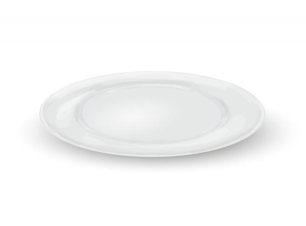 Pusty talerz obiadowy