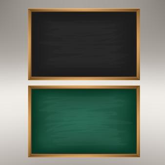 Pusty zielona tablica