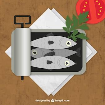 Puszka anchois