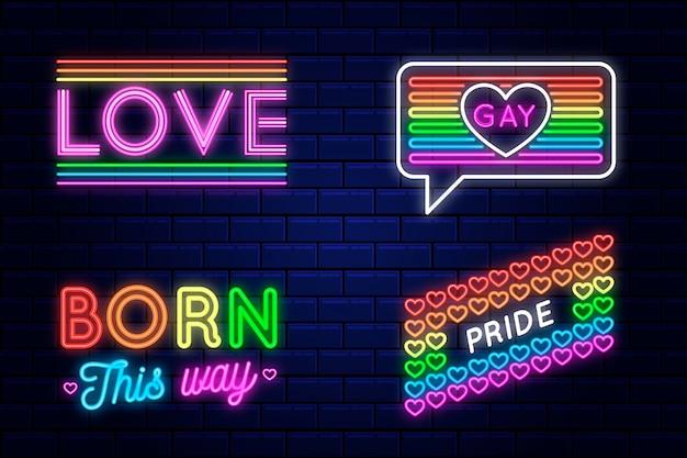 Pycha neony