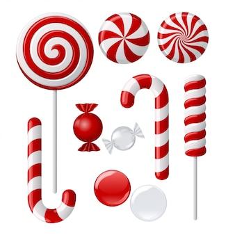 Pyszna kolekcja lollipop