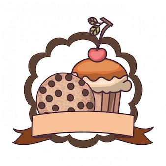 Pyszne ciasta piekarnicze i ciasteczka