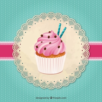 Pyszne ciastko