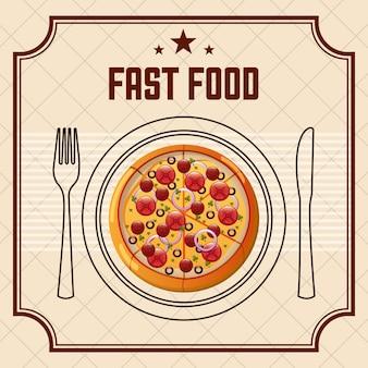 Pyszne fast food