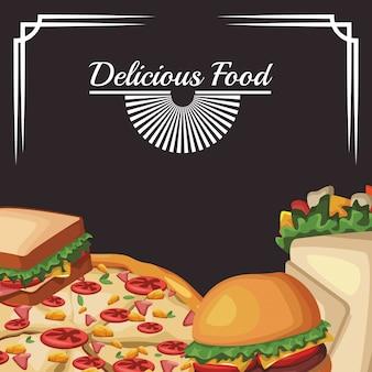 Pyszne fast foody