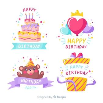 Pyszne kolorowe słodycze na urodziny
