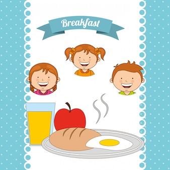 Pyszne śniadanie
