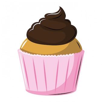 Pyszny deser ciastko