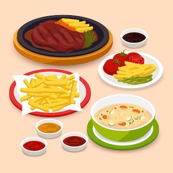 Pyszny komfort żywności koncepcja