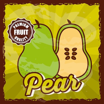 Pyszny projekt owoców