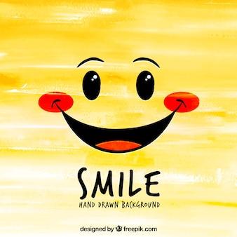 R? cznie rysowane t? o smile