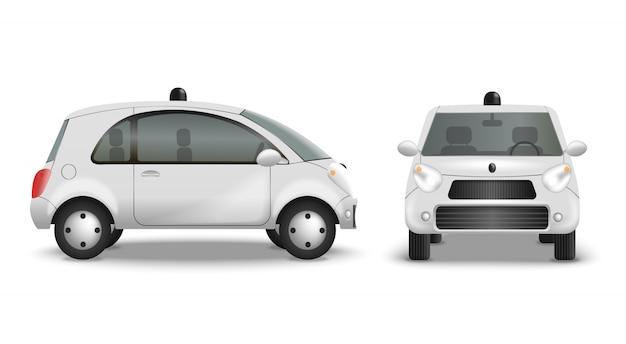 Radiocontrolled car road izolować na białym tle