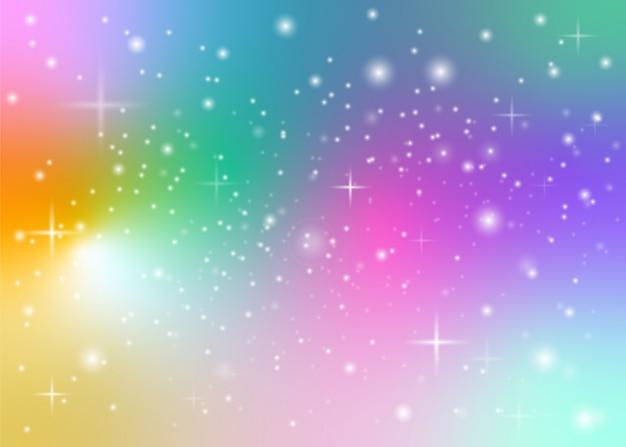 Rainbow pastelowe tło