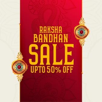 Raksha bandhan sprzedaż tło