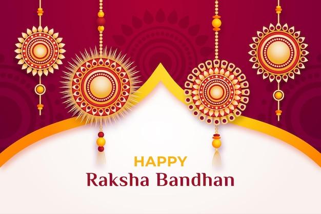 Raksha bandhan tła pojęcie