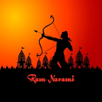 Ram navami celebracja płaski
